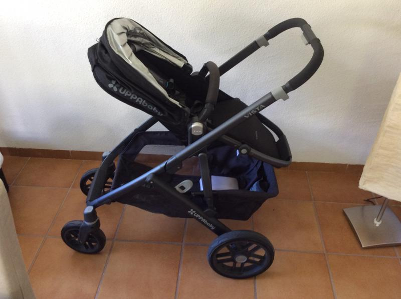 Duo vista uppababy opiniones for Silla uppababy vista