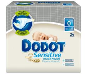 Pañales Dodot Sensitive Recién Nacido T0