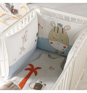 protector de cuna bordado kitchoun kiabi opiniones. Black Bedroom Furniture Sets. Home Design Ideas