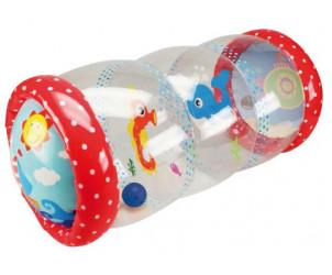 Cilindro hinchable de actividades para bebé