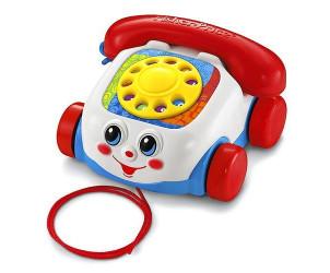 Teléfono carita divertida