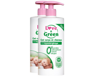 Gel Cuerpo y Cabello Love & Green
