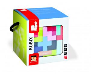 Kubix maleta con 50 cubos geométricos