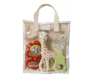 Bolsa regalo de algodón Sophie La Girafe