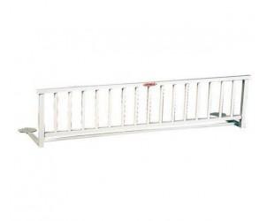 Barrera plegable para cama de madera