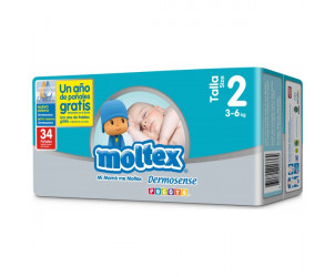 Pañales Moltex Premium T2