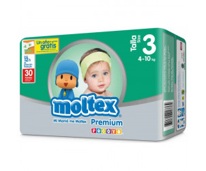 Pañales Moltex Premium T3