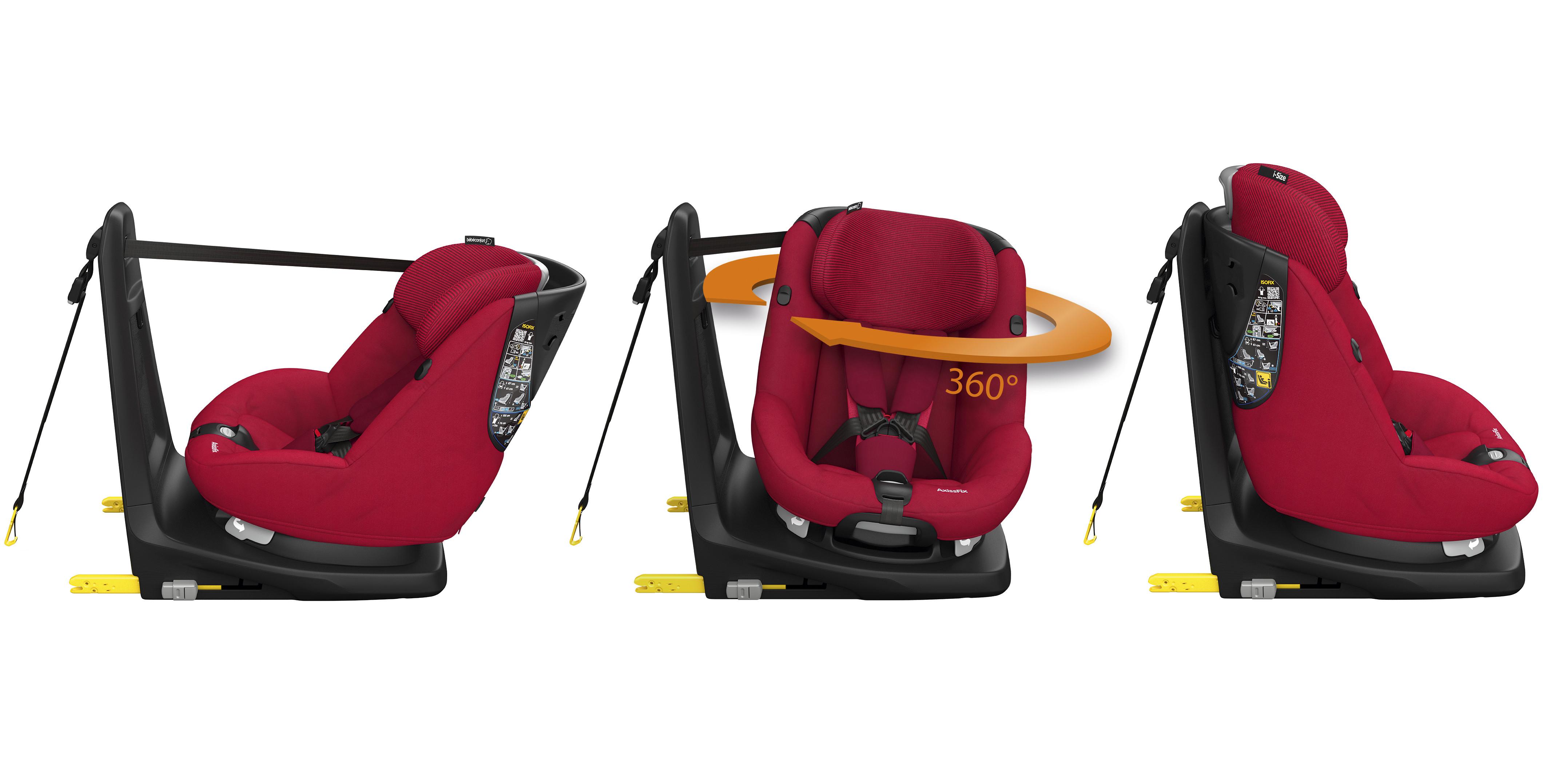 Silla de coche axissfix i size b b confort opiniones for Silla coche nino 8 anos