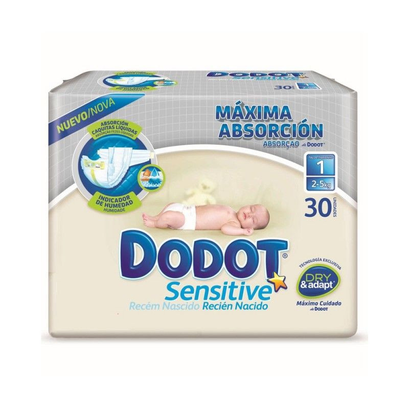 bdeaff364af0 Pañales Dodot Sensitive Recién Nacido T1 Dodot : Opiniones