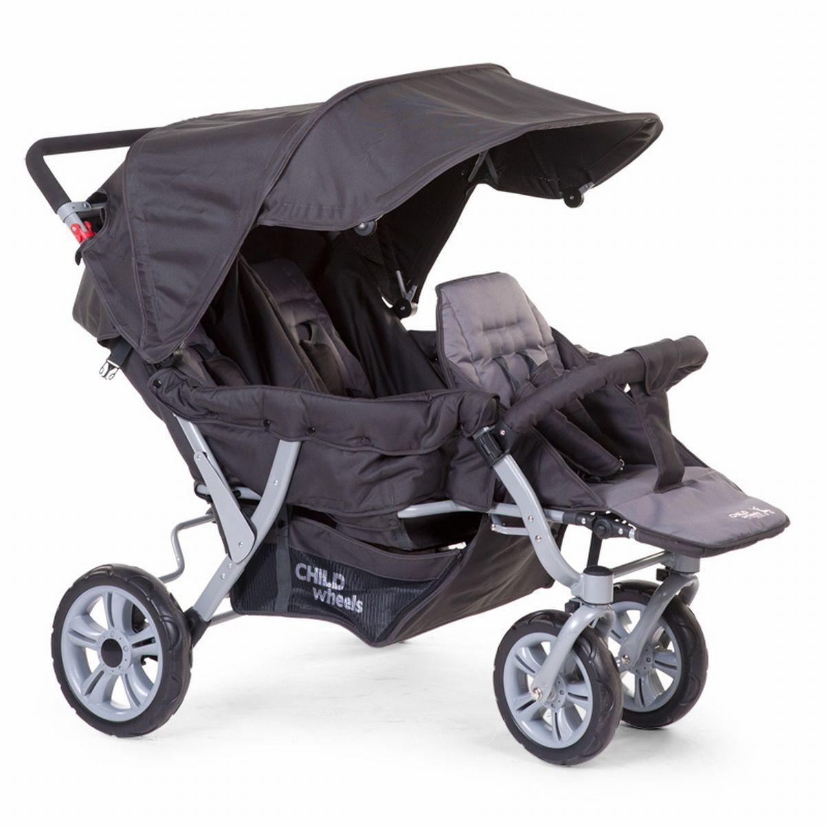 Silla de paseo para trillizos triplet childwheels opiniones for Sillas para dormir