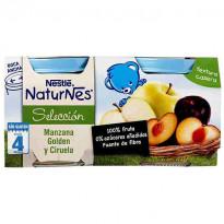 Naturnes - Compota de manzana y ciruela