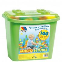Caja de Construcción de 100 Piezas