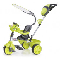 Triciclo evolutivo con volante interactivo
