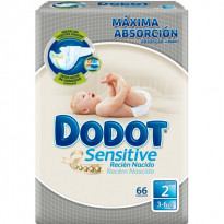 Pañales Dodot Sensitive T2