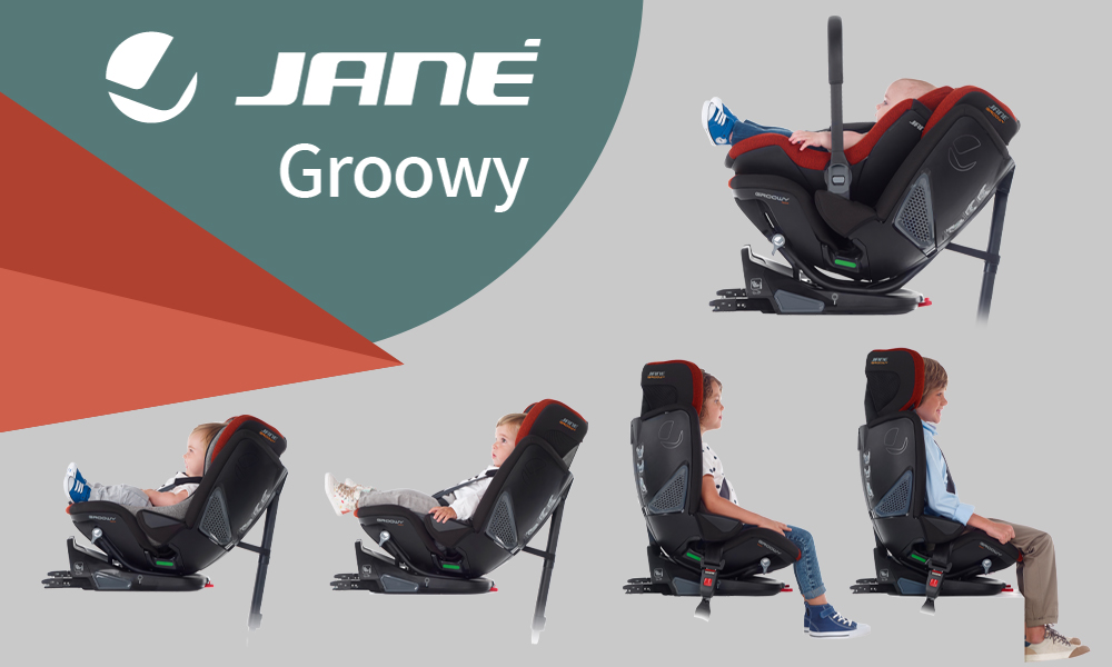 Silla de coche Groowy + Nest i-size Jané