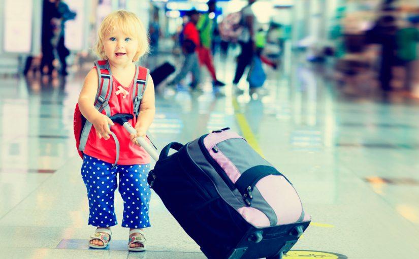 Consejos para viajar con niños.